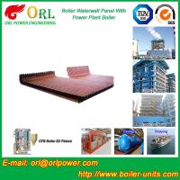 China Biomass Boiler Water Wall Panels Anti Corrosion For Metallurgical Industry wholesale
