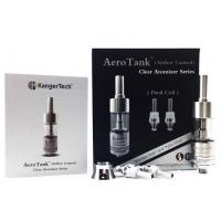 China 2014 Most popular Bottom Dual coil Glassomizer Kanger Aerotank with Airflow Function wholesale