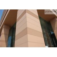 China CE ISO Building Facade Terracotta Panels External Wall Cladding Material wholesale