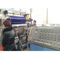 Quality PP PE Plastic Sheet Board Extrusion Line / Decorative Plastic Board Making for sale