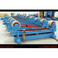 China Automatic Pipe Welding Rotator Vessel Welding Turning Bed With Rubber Roller wholesale