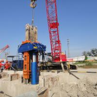 Quality Excavator/Crane Mounted H-Beam Piles Hydraulic Pile Pulling Machine for sale