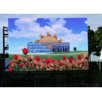 China P10 Outdoor Full Color LED Display , 6000 cd/㎡ Rental LED Screen 10000 dots / ㎡ wholesale