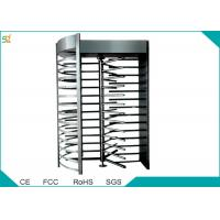 China Full Height Automatic Turnstiles 120 Degree Single Channel High Security Barrier wholesale