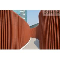 China Sunshade Terracotta Louvers For Building Facade Decoration Exterior And Interior wholesale