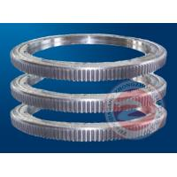 China OEM Custom Carbon Steel Ring Flange Forging / Forged Slew Bearing , Height 1500mm wholesale