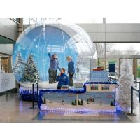 China 2013 hot sell  inflatable snow globes Christmas  / Xmas snow globes festival/ Holiday large snow globe wholesale