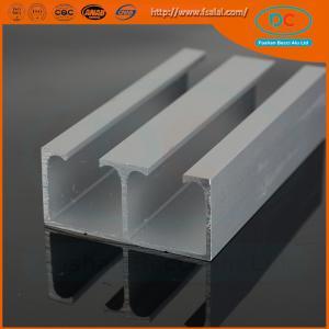 China Indian hot sell ss brush aluminum window profile, Matt aluminum window section, window profile wholesale