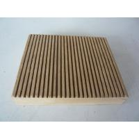 China Fire retardant WPC outdoor decking wholesale