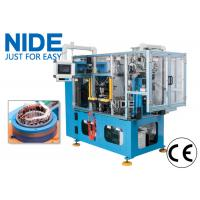 China High efficiency automatic 4 working stations electric motor stator coil lacing machine line wholesale