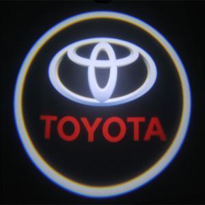 Quality Toyota car accessories led Door Projector Lights car emblem toyota badge door for sale