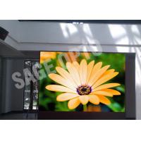China P4mm High Definition HD LED Backlit Display , LED Backdrop Screen wholesale
