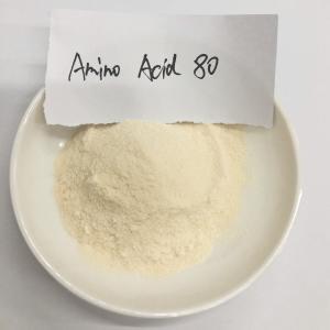 China Foliar Amino Acid Organic Fertilizer Amino Acid 80% wholesale