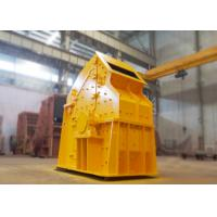 China Non - Key Connected Cobble Fine Crusher 132 Kw Adjustable End Products Sizes wholesale