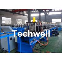 China 16 Forming Stations Steel Shelf Rack Roll Forming Machine With Galvanized Coil Or Carbon Steel wholesale