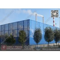 China Coal Storage Area  Wind & Dust Suppressing Fence 9.5m height X 4.5m Structure Spacing wholesale
