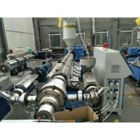 China Automatic Plastic Pipe Extrusion Line Single Screw High Speed wholesale