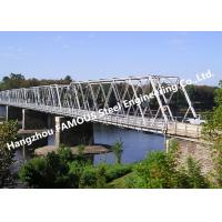 China High Performance Temporary Galvanized Surface Steel Bailey Bridge with Heavy Load Capacity on sale