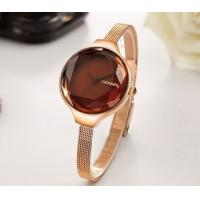 China Wholesale CADISEN Fashion Ladies Mesh Belt  Quartz Waterproof 30m Women Milanese's strap  Wrist Watches C2020 wholesale