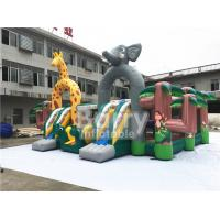 Buy cheap Animal World Large Children Inflatable Toddler Playground ,Indoor Inflatable Fun from wholesalers