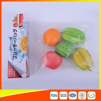 China PE Clear Freezer Zip Lock Bags , Double Resealable Freezer Bags For Food wholesale