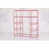 Buy cheap steel tube Non-woven Wardrobe, Bedroom wardrobe 22mm /19MM 3 door ODM offer from wholesalers