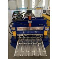 China 380v Roofing Panel Sheet Making Machine 70mm Shaft For Alu - Alloy And Zinc Sheet wholesale