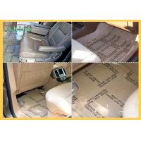 China Auto Carpet Protective Film With Printing And Perforate Car Floor Protection Film wholesale