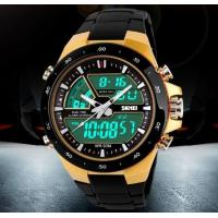 Buy cheap SKMEI Coly 50M Waterproof Analogue Digital LCD Multifunctional Mens Sports Watch from wholesalers