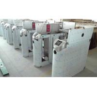 Quality High Speed Glass Lane Flap Barrier Gate With TCP / IP Door Access Control System for sale