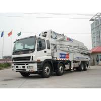 China Stable Performance 8x4 47 Meters Mobile Concrete Pump Trucks Safety wholesale