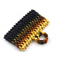 Custom Hand Made Wooden Beaded Evening Clutch Bags For Fashionable Ladies