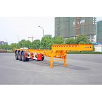 China Gooseneck Container Trailer Chassis For 40 Feet Shipping Container wholesale