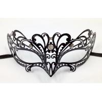 China Venice Mask Metal Mask with Swarovski crystals PF3025D wholesale