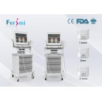 China 15 inch hifu high intensity focused ultrasound wrinkle removal facial massage machine wholesale