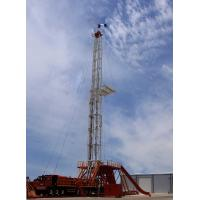 China Steel Oil And Gas Drilling Rigs , Oilfield Drilling Equipment API Standard wholesale