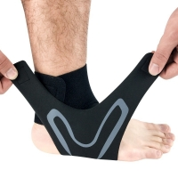 China Factory Supply Sport Gym Ankle Brace Tendon Sleeve With Arch Support Foot Care Ankle Protector Straps For Ankle Eases Sw wholesale