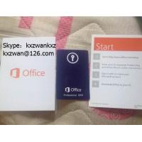 Wholesale Microsoft office 2013 Professional PKC with FPP Key 100% Activate Online from china suppliers