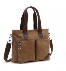 China Canvas Large Capacity Cross Shoulder Bag Single Shoulder With Adjustable Straps wholesale
