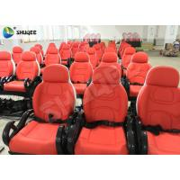 Quality 5D Luxury Movie Theater Seat Electric Hydraulic And Pneumatic Mobile Seats for sale