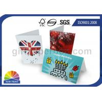 China Custom Festival Greeting Cards Printing Service for Birthday Cards with Art Paper wholesale