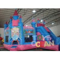China Funny 5 in1 Giant Princess Castle 	Inflatable Bouncer Combo For Children Park wholesale