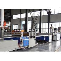 China Full Automatic PVC WPC Board Production Line For Wood Plastic WPC Building Template wholesale