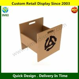 China Atlantic Record Crate Shelf, Natural Wood Look YM6-102 wholesale