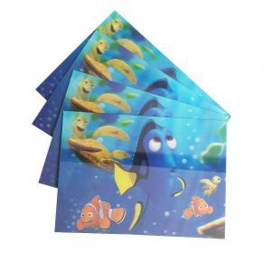 China 75PI 0.45MM PET lenticular 3D lenticular printing glitter postcard /3D lenticular printing Christmas Cards gift wholesale
