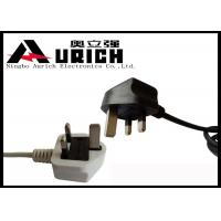 UK Approval 3 Prong Computer Power Cord  , British Power Cable BS 1363 Standard