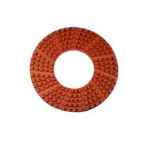 China 11 Inches Diamond Granite Floor Polishing Pads High Gloss Finishes Hook / Loop Connection wholesale