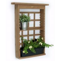 China Contemporary Decorative Outdoor Furniture Plant Wall Shelf Modern Shelving Unit wholesale