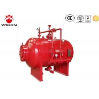 China Bladder Tank Foam Proportioning Machine 3% 6% Carbon Steel Red For Firefighting on sale