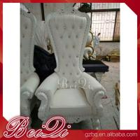 China Cheap King Throne Chair Golden Style Furniture Manicure Pedicure High Back Throne Pedicure Spa Chair wholesale